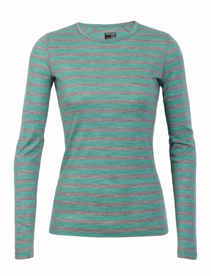 Oasis Long Sleeve Crewe Stripe