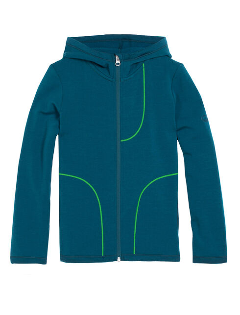 Camper Long Sleeve Zip Hood