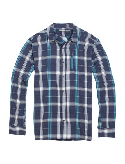 Cool-Lite Compass II Long Sleeve Shirt Plaid