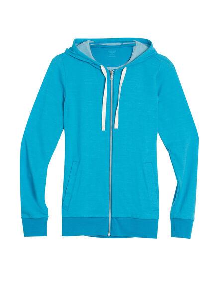 Allure Long Sleeve Zip Hood