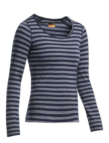 Oasis Long Sleeve Scoop Stripe