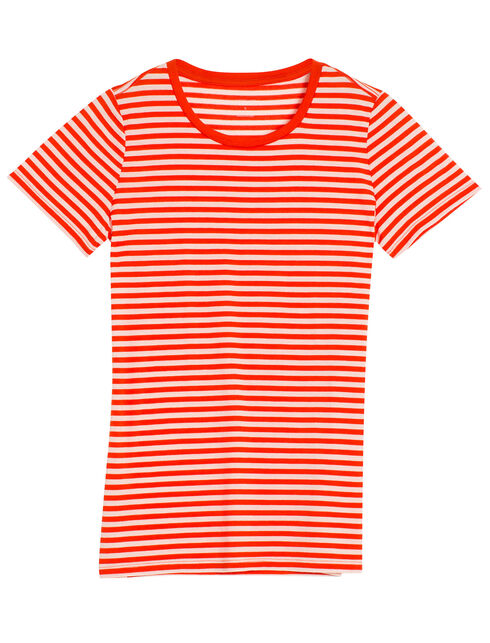 Tech Lite Short Sleeve Crewe Stripe