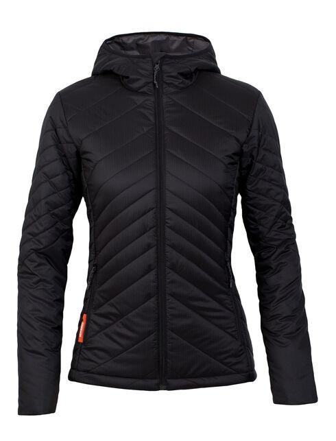 Women's MerinoLOFT Stratus Long Sleeve Zip Hood
