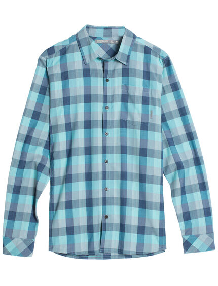 Departure II Long Sleeve Shirt Plaid