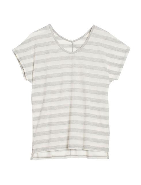 Aria Short Sleeve Stripe