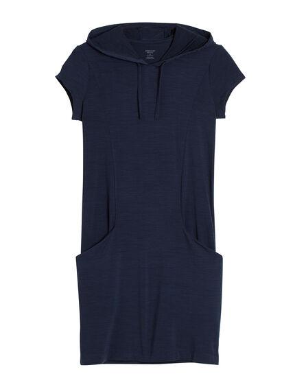 Yanni Hooded Dress Short Sleeve