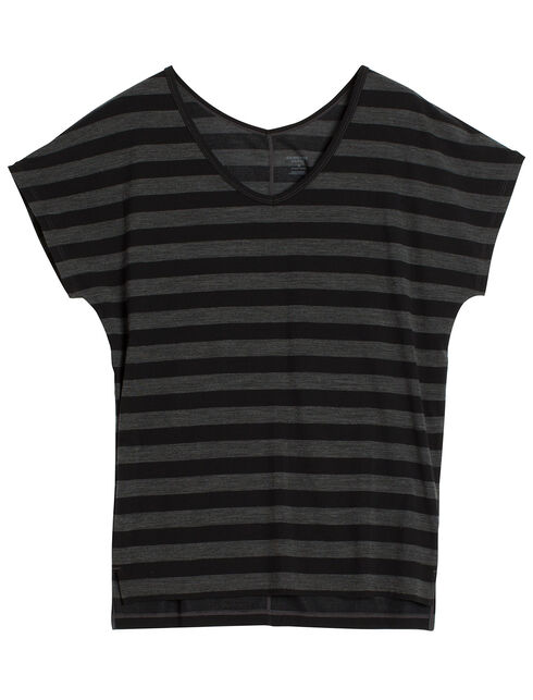 Aria Short Sleeve Stripe