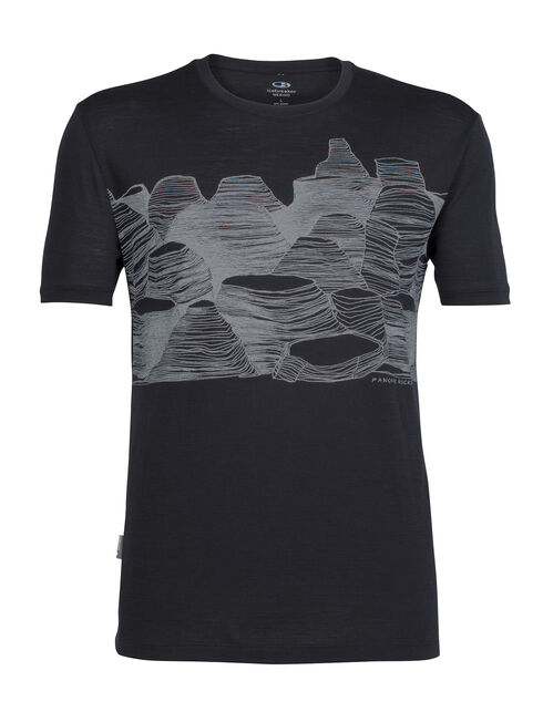 Tech Lite Short Sleeve Crewe Pancake Rocks