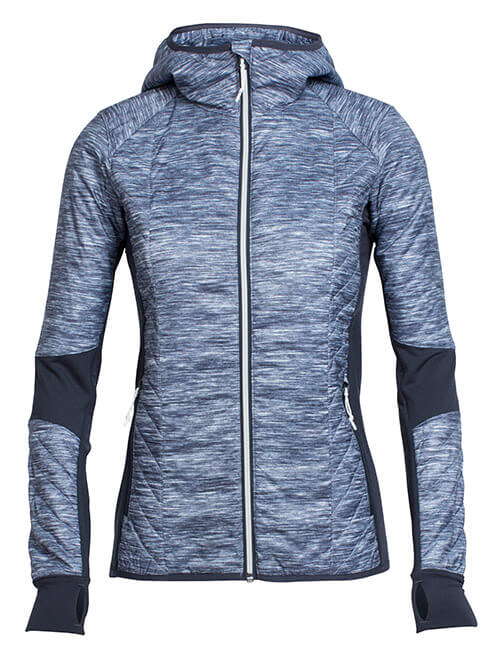 MerinoLOFT Helix Long Sleeve Zip Hood