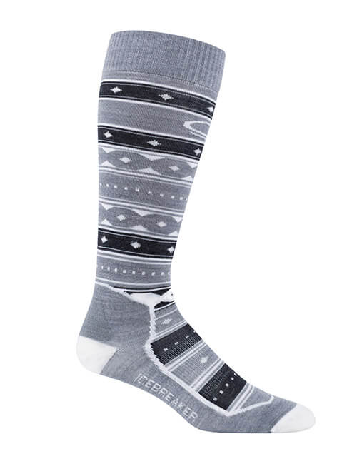 Womens Ski + Ultra Light Over the Calf Icon Fairisle