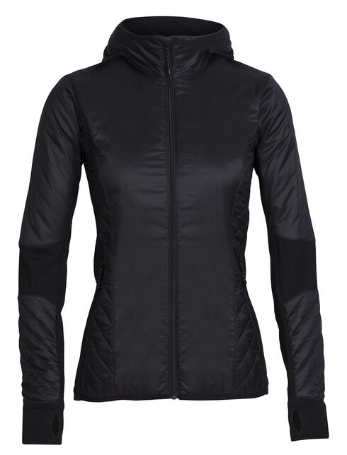Women's MerinoLOFT Helix Long Sleeve Zip Hood