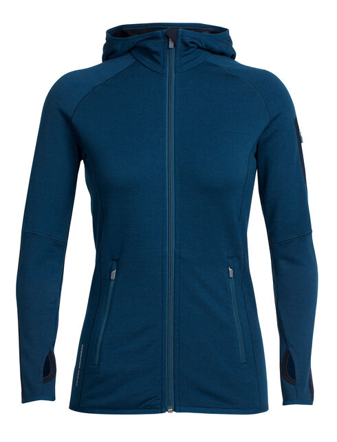 RealFLEECE® Atom Long Sleeve Zip Hood