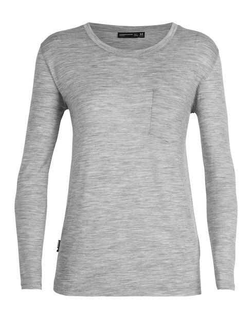 Women's TABI Tech Lite Long Sleeve Pocket Crewe