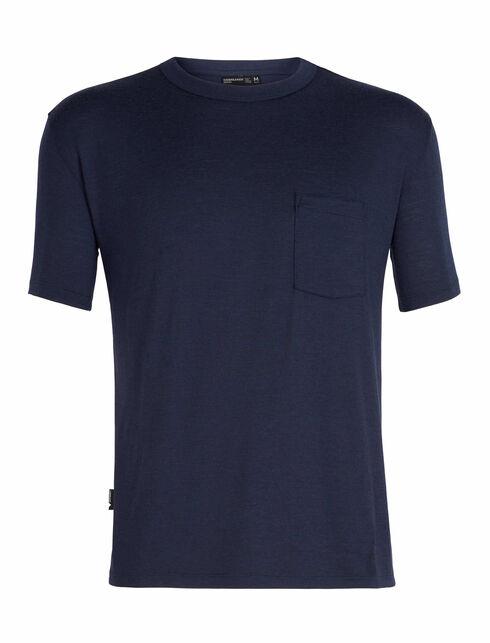 Tech Lite休闲短袖圆领上衣(带口袋)