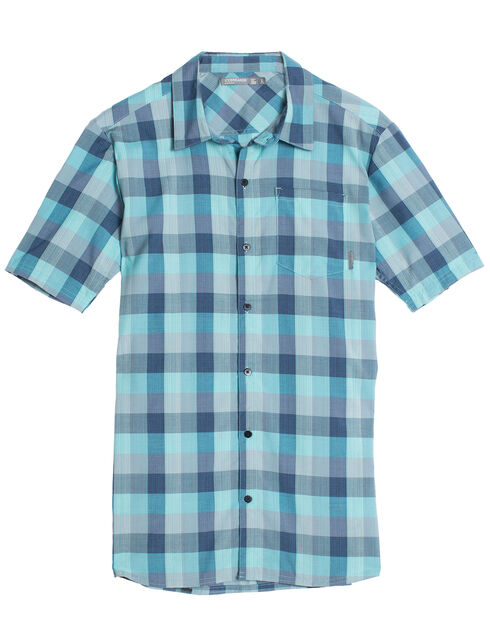 Departure II Short Sleeve Shirt Plaid