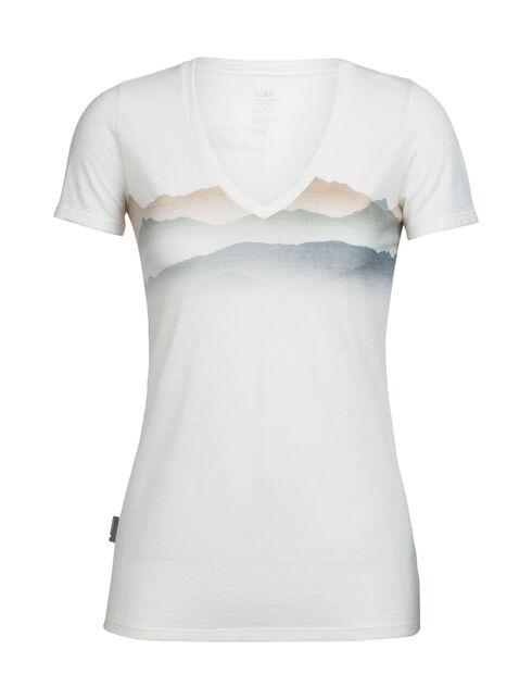 Women's Tech Lite Short Sleeve V Misty Horizon