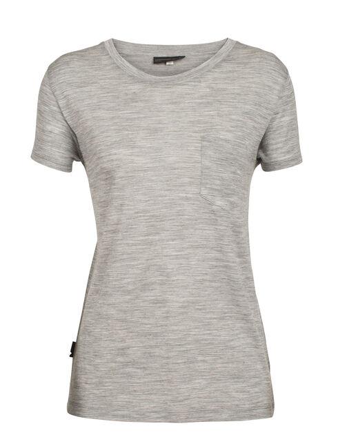 Women's TABI Tech Lite Short Sleeve Pocket Crewe