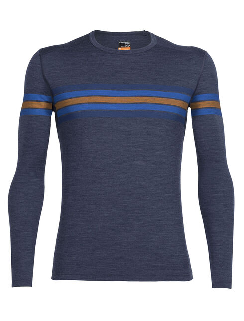Oasis Long Sleeve Crewe Coronet Stripe