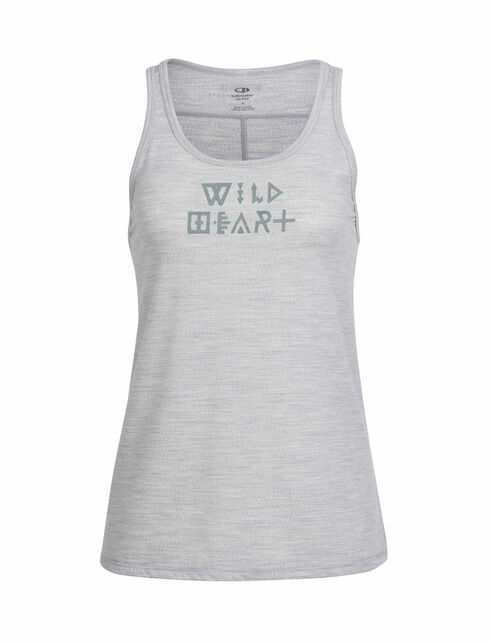 Aria Tank Wild Heart Glyphs