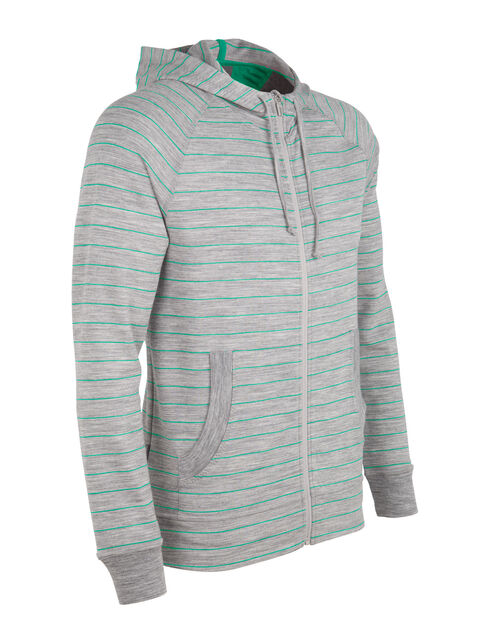 Quattro Long Sleeve Hood Stripe