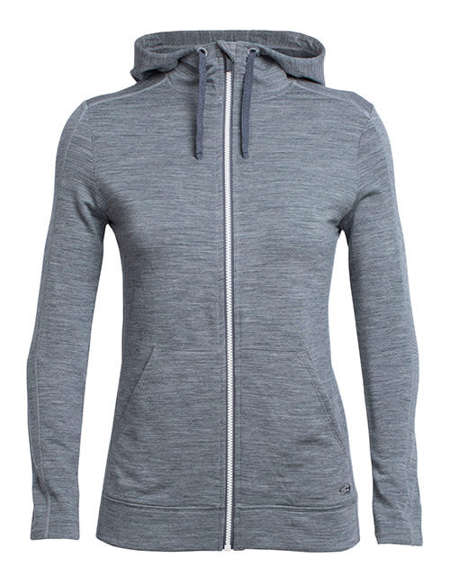RealFLEECE Dia Long Sleeve Zip Hood